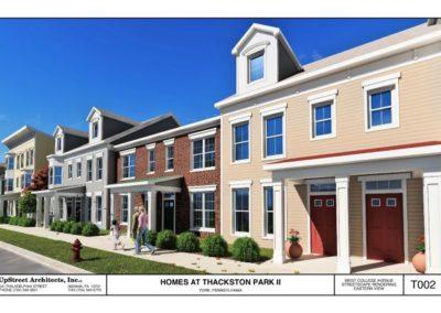 Homes at Thackston Park in York, PA.